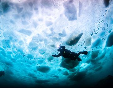 CMAS Ice Diver